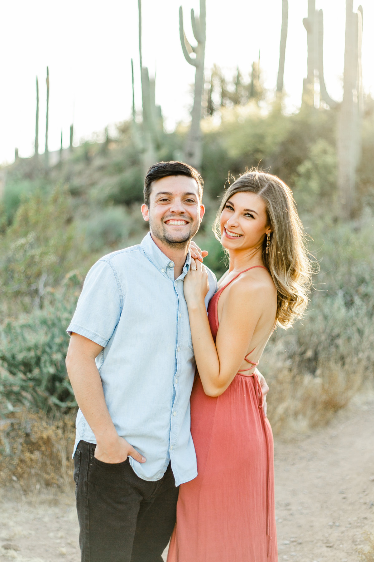 Karlie Colleen Photography - Arizona Desert Engagement - Brynne & Josh -98