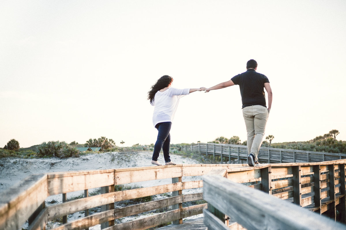 Ponce Inlet Engagement photo by Sidney Baker-Green