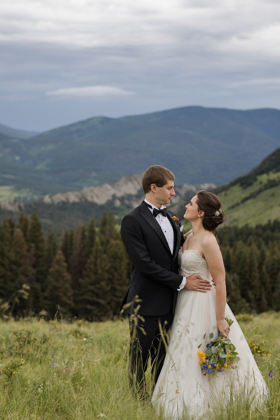 Cuchara Colorado Mountain Wedding Day