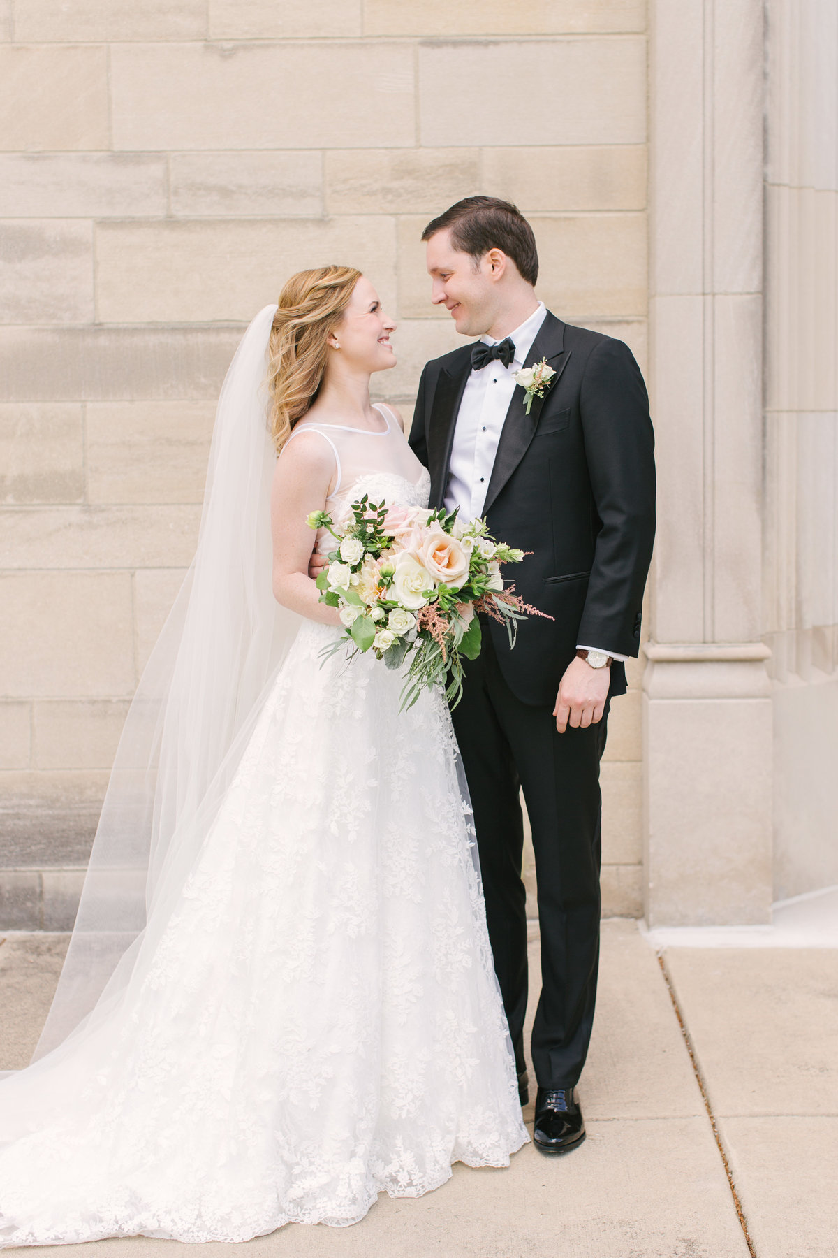 Scottish Rite Cathedral Wedding Traditional Photo