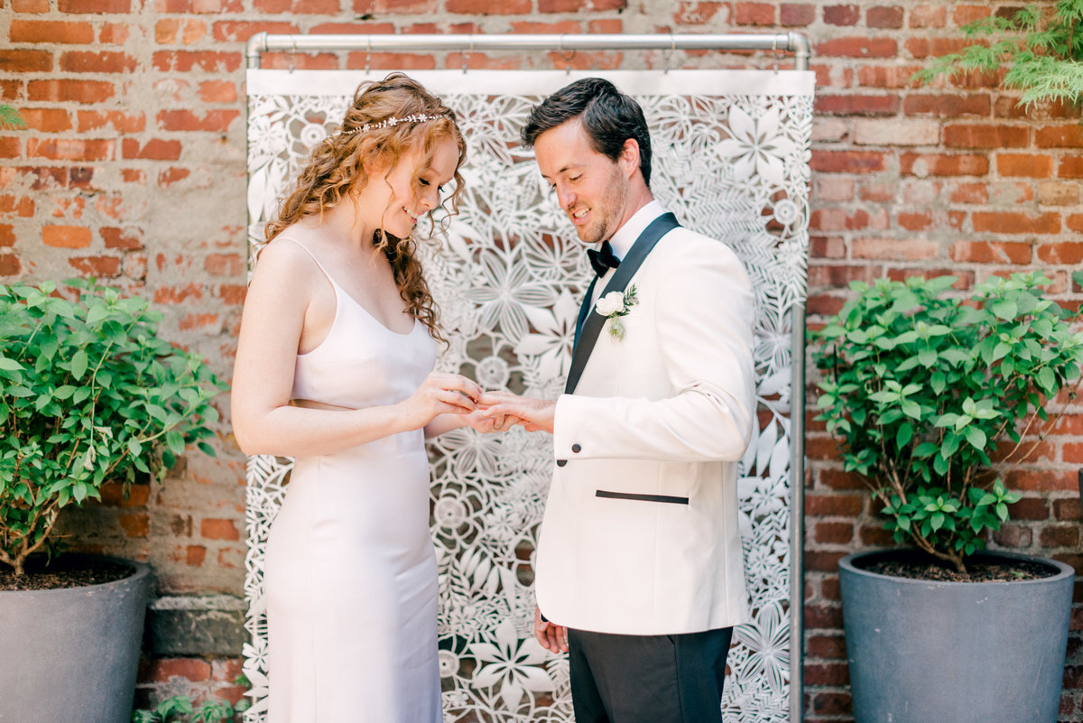 Modern Wedding in the heart of Brooklyn