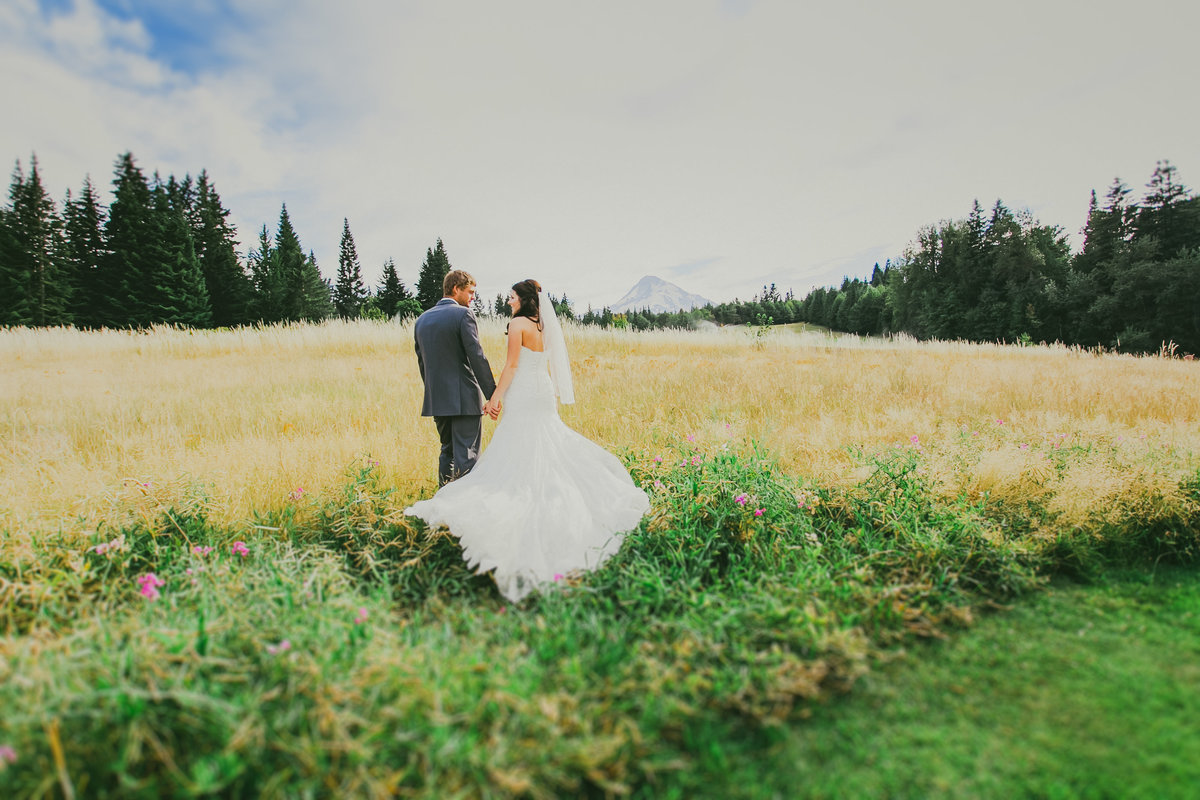 Mt Hood Wedding
