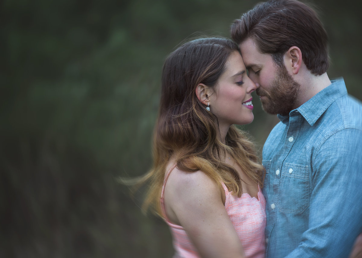 charlotte wedding photographer jamie lucido captures a beautiful portrait of an engaged couple connected and dancing