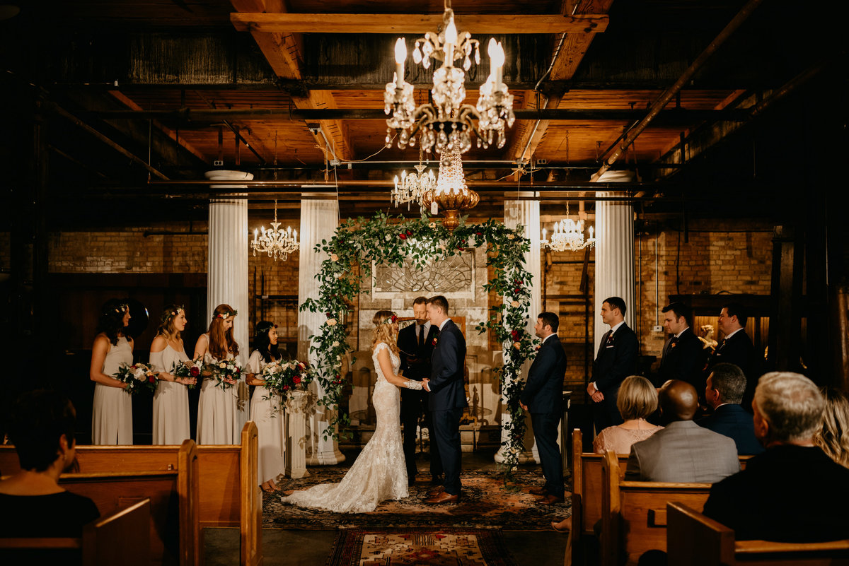 Salvage One Chicago Wedding