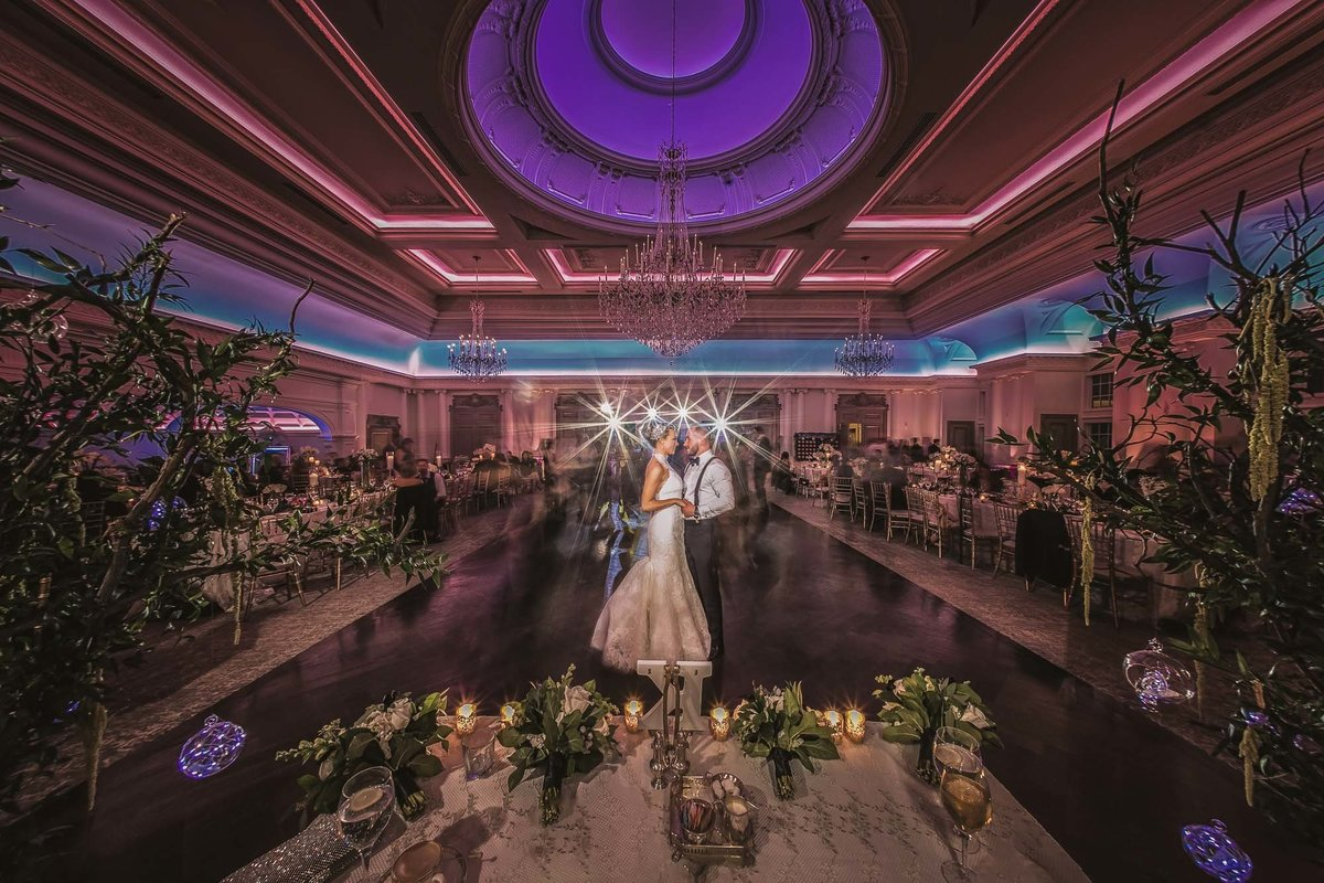 NJ Wedding Photographer Michael Romeo Creations Park Château ballroom