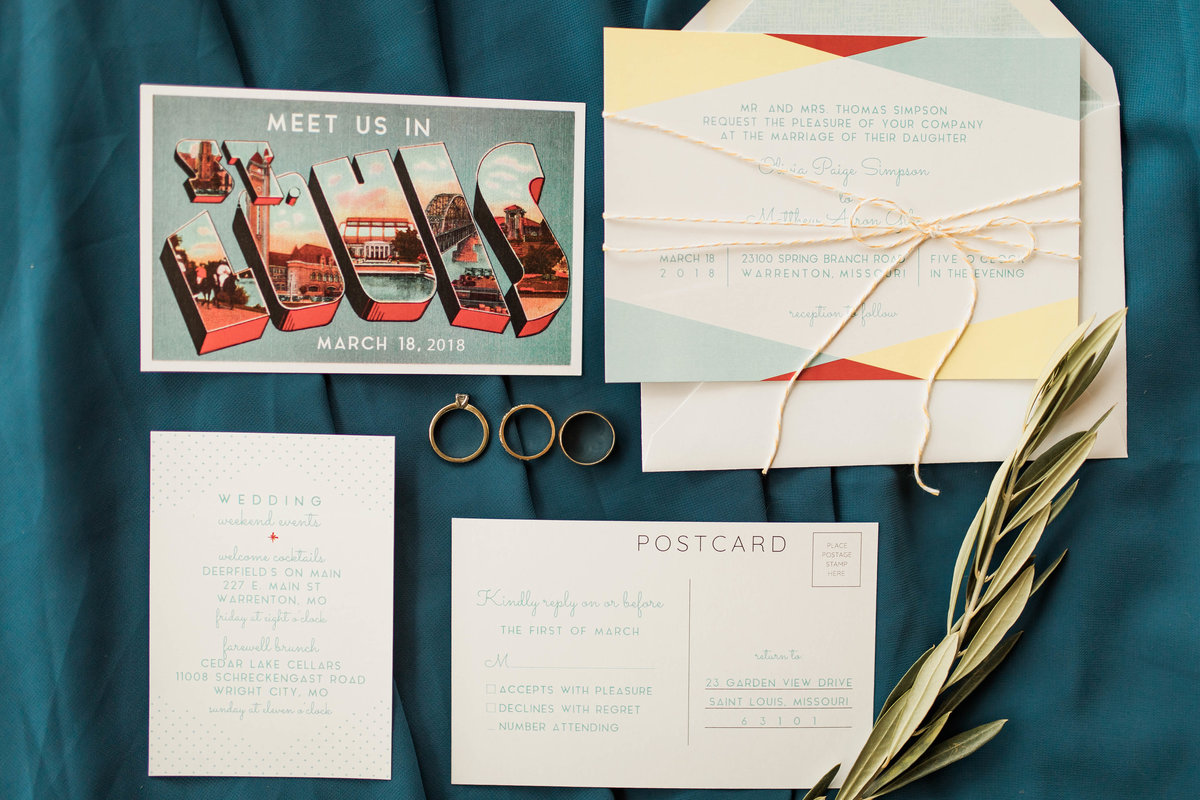 Retro Styled Shoot - Sophia and Andrew - St Louis Wedding Photographer - Allison Slater Photography 36