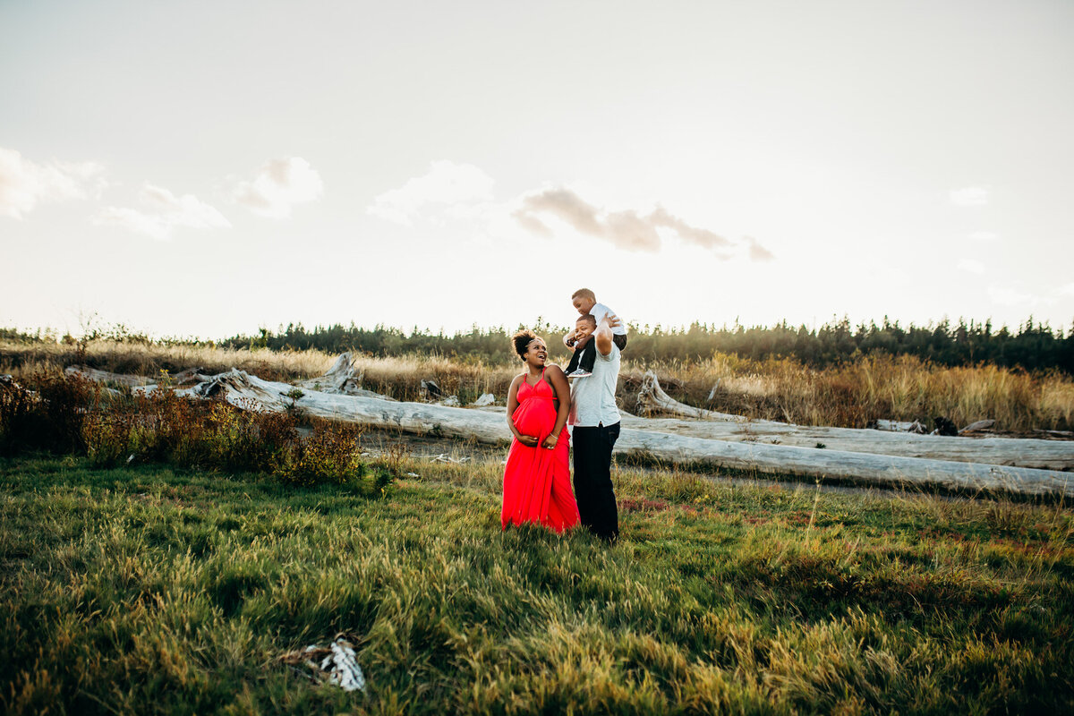Camano Island Washington Maternity Photography-4