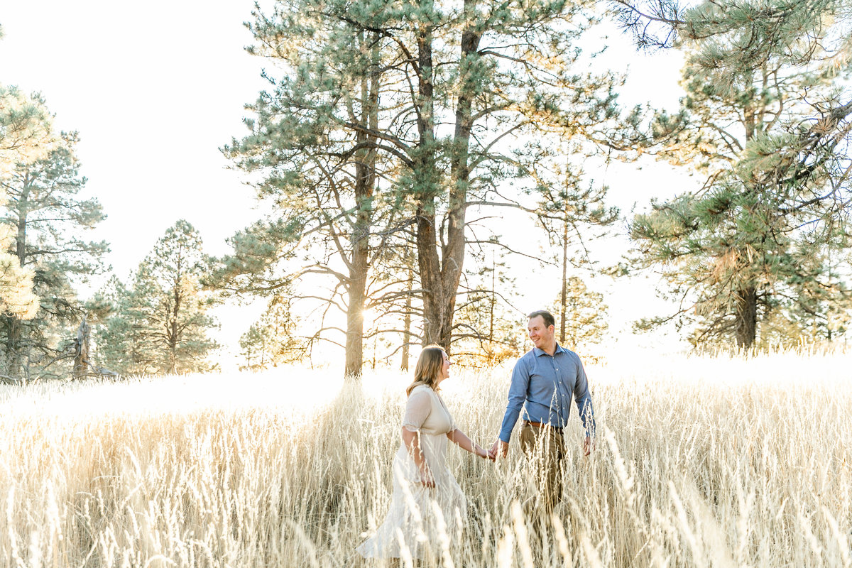 Karlie Colleen Photography - Flagstaff Arizona Engagement Photographer - Britt & Josh -187