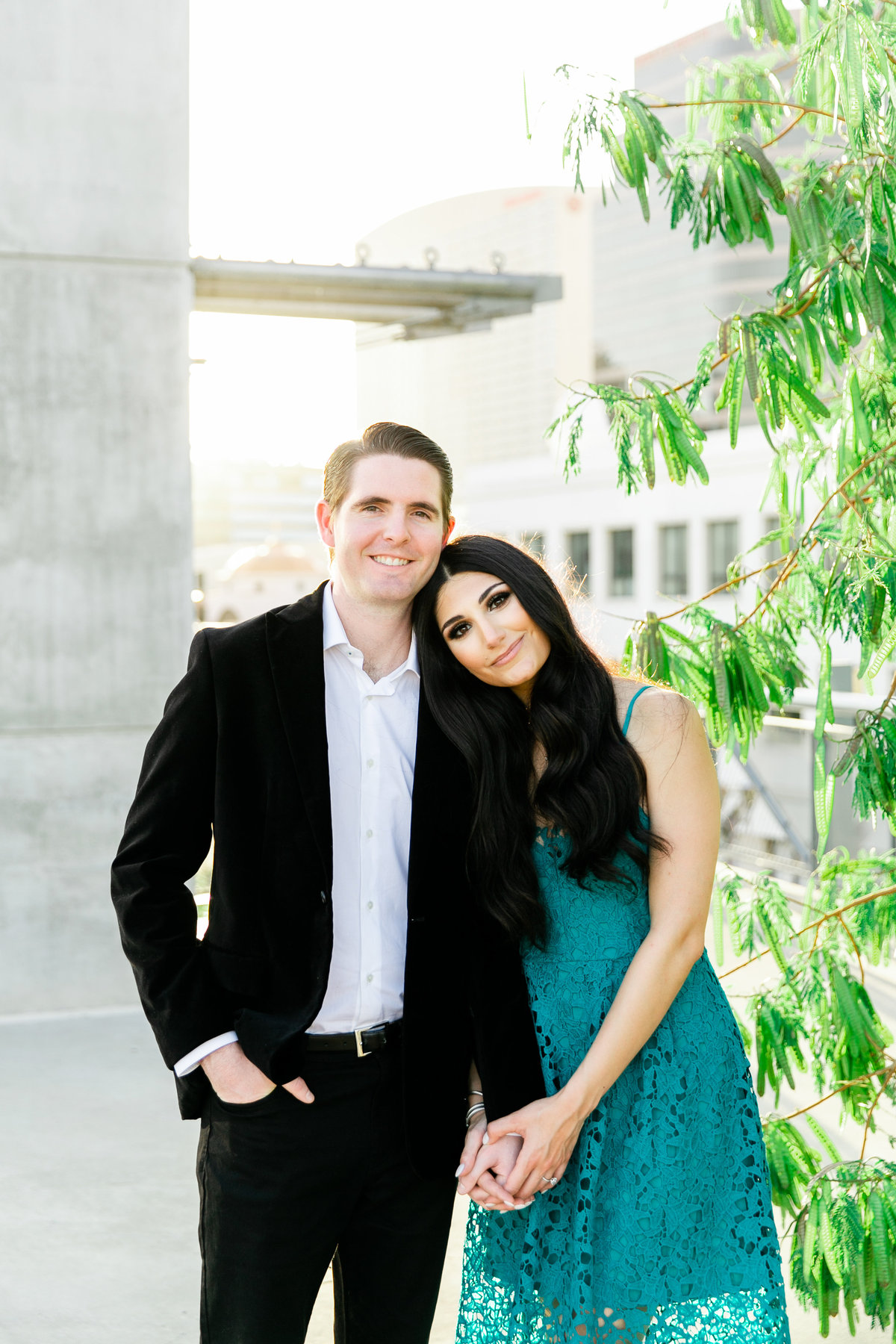 Karlie Colleen Photography - Arizona Engagement City Shoot - Kim & Tim-192