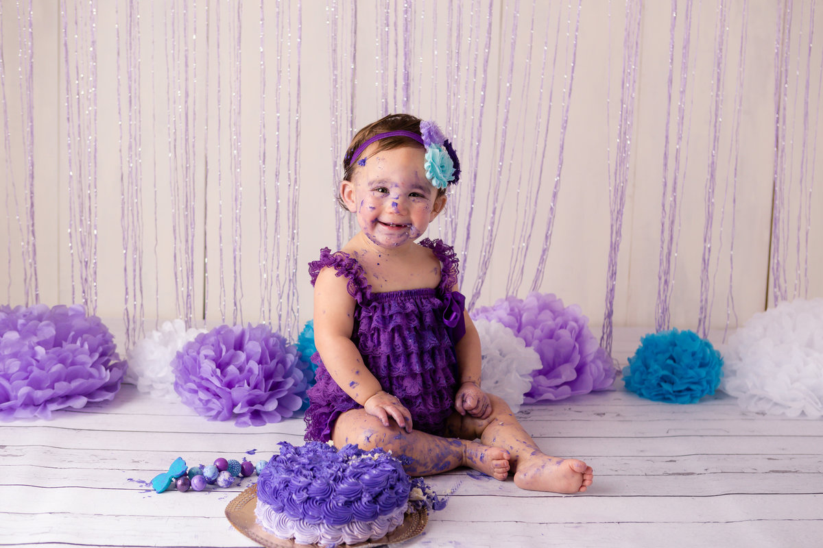 west point photographer first birthday cake smash hudson valley professional photo studio