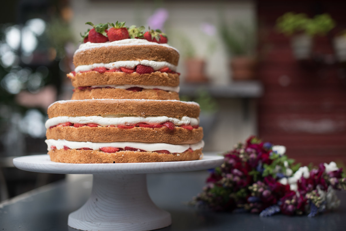 village tea room wedding