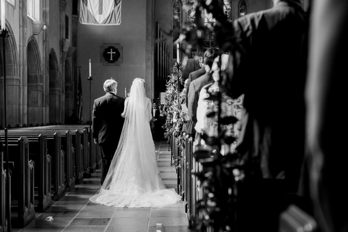 Scottish Rite Cathedral Wedding Lace Wedding Ceremony Photo
