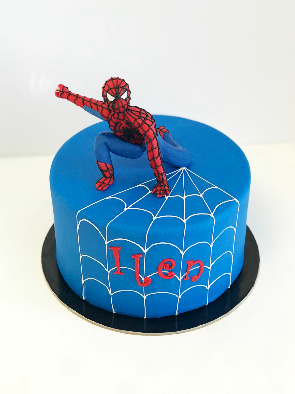Whippt Spiderman Cake June 2018