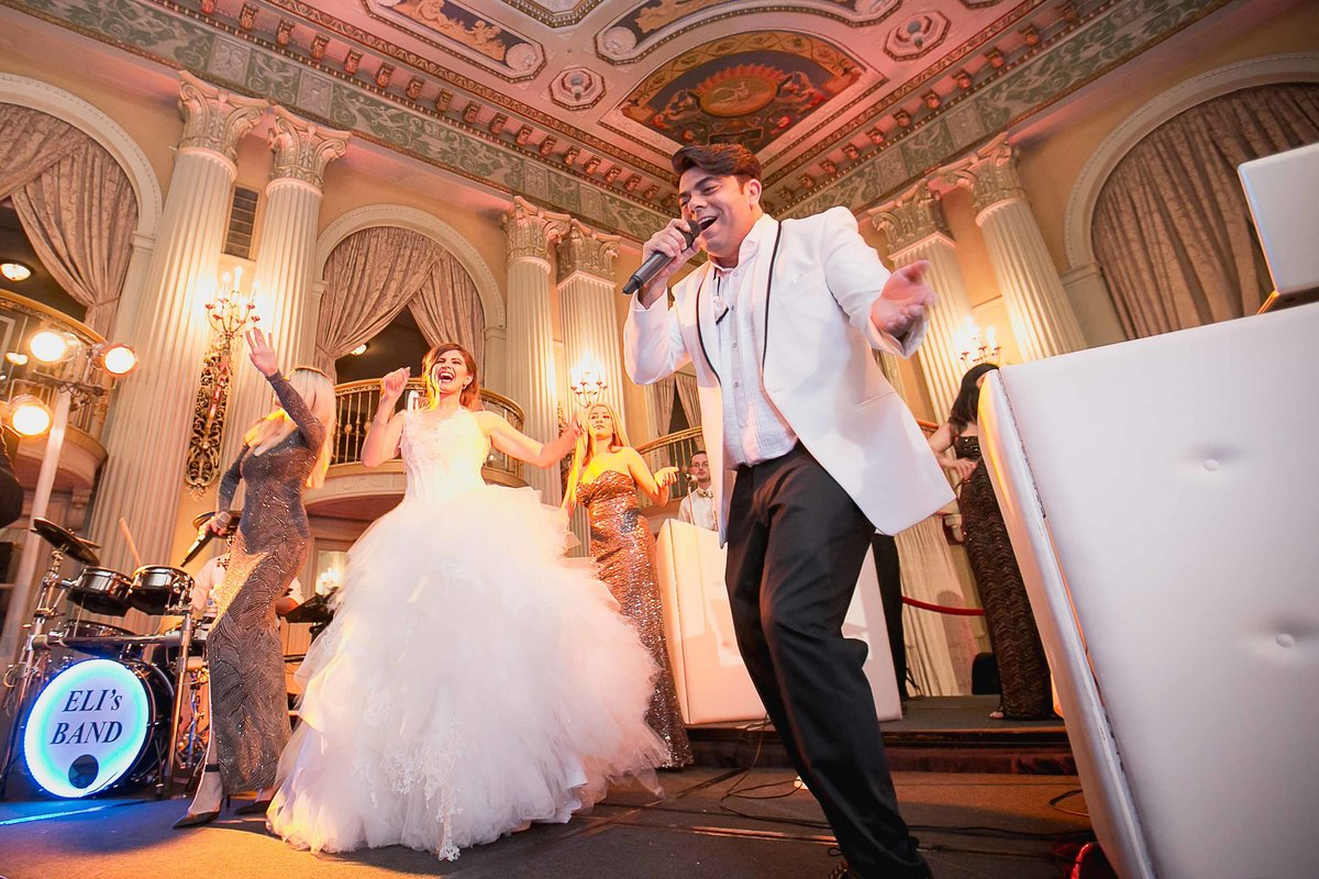 Millennium Biltmore Hotel Wedding Band