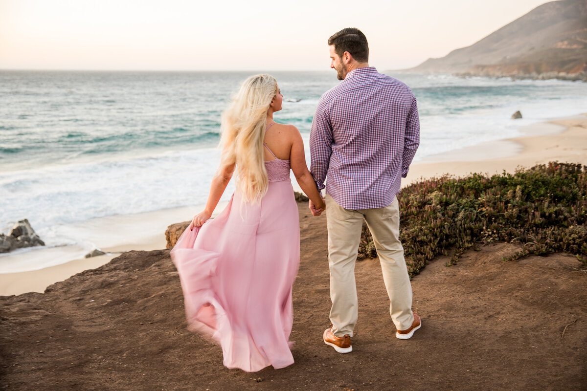 best engagement photographer in Big Sur