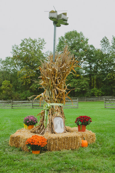 Farm home tent wedding fall rustic15