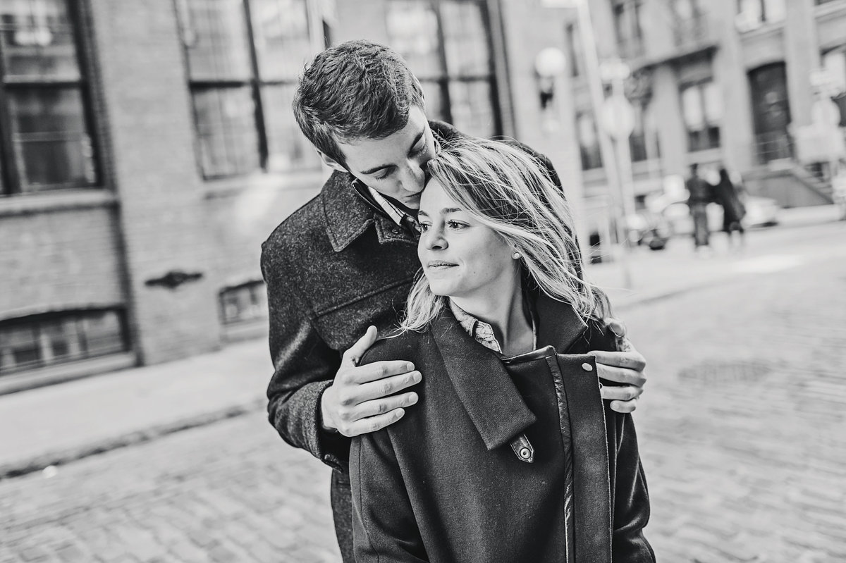 Brooklyn New York City Engagement Session by  Amanda Dumouchelle Photography a  Detroit, New York and Destination Wedding Photographer
