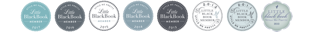 Proud to be the only wedding videography Style Me Pretty Little Black Book member based in the Florida Panhandle for the last 8 years.
