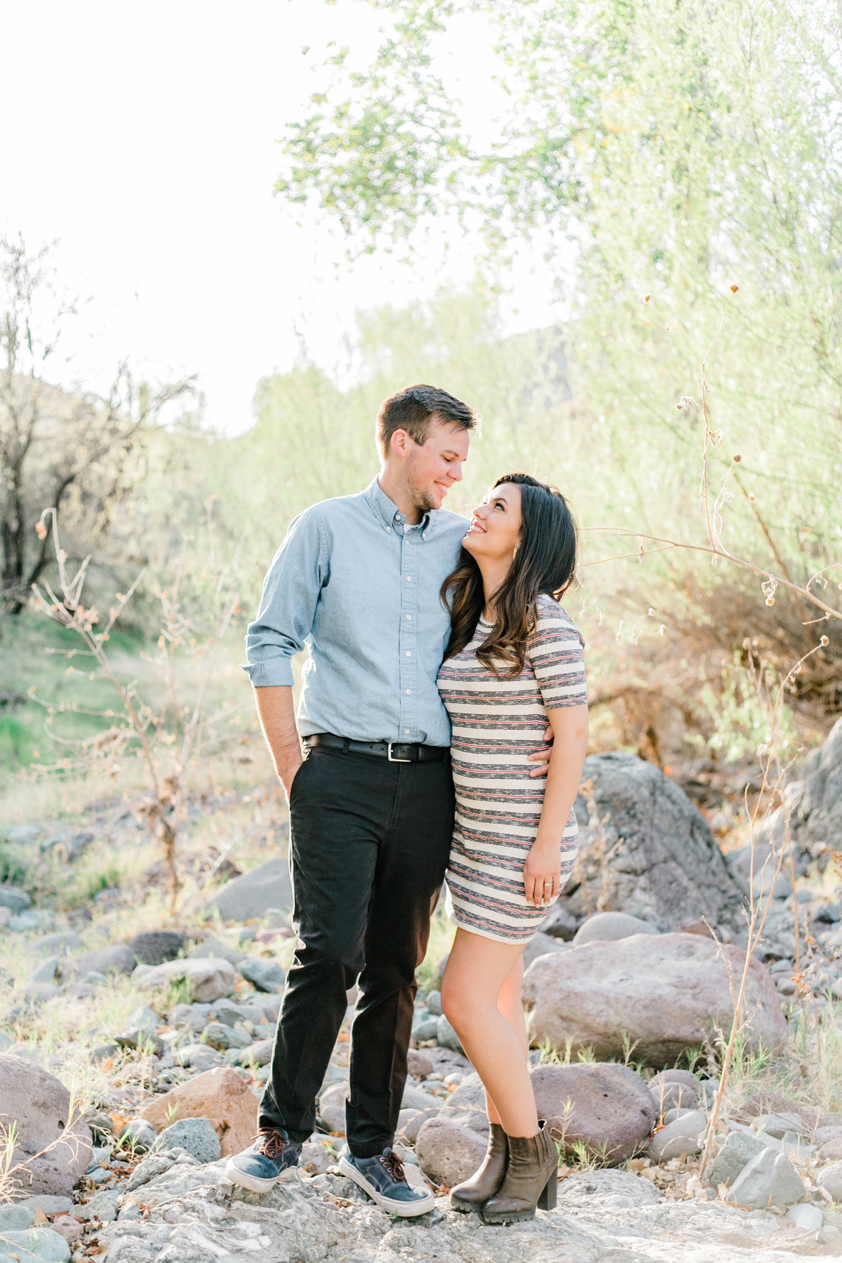 Karlie Colleen Photography - Claire & PJ - Engagement Session-213