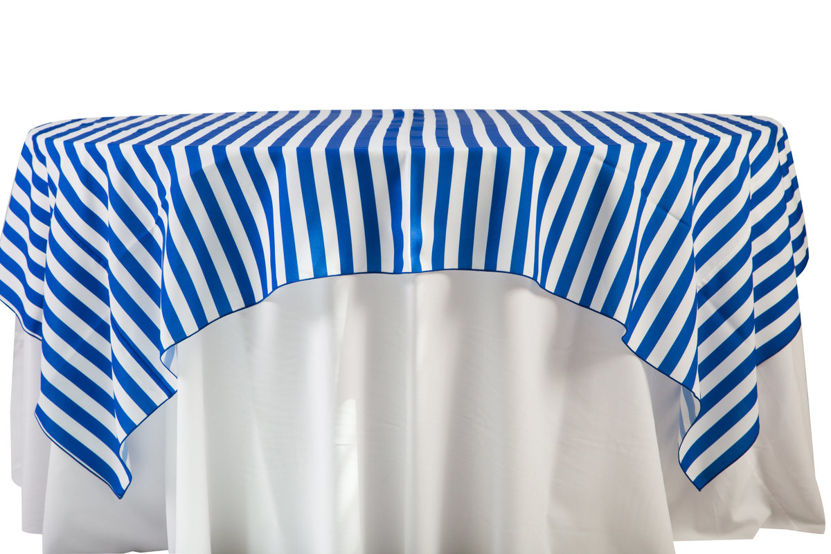 84'' Sq Royal Blue Cabana Stripes Overlay (2)