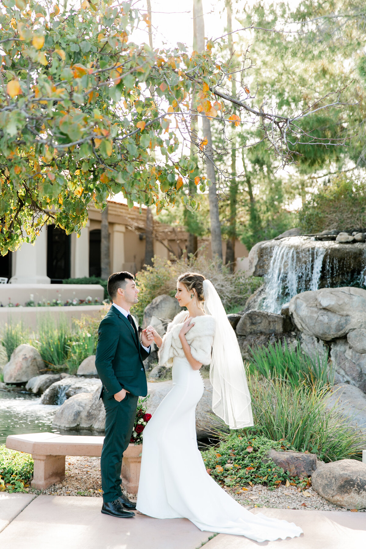 Karlie Colleen Photography - Gilbert Arizona Wedding - Val Vista Lakes - Brynne & Josh-473