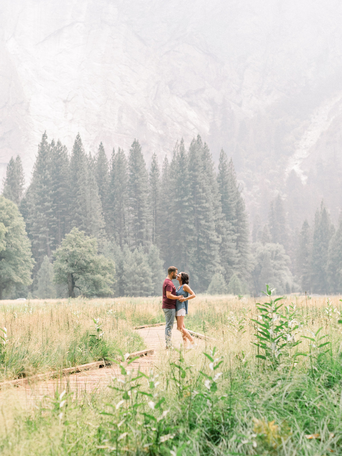 yosemite engagement session8