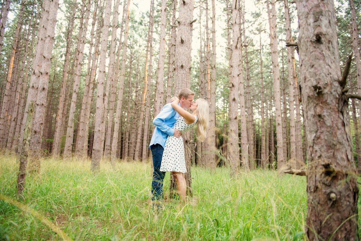 traverse city michigan wedding engagement photography