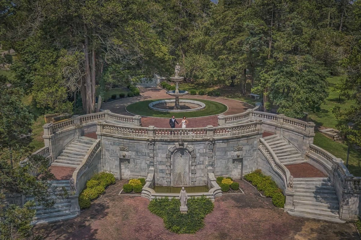 NJ Wedding Photographer Michael Romeo Creations drone