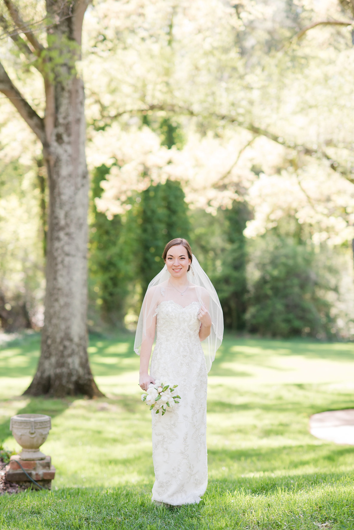 A Home Estate Bridal Session, Michelle and Sara Photography, Burlington NC5