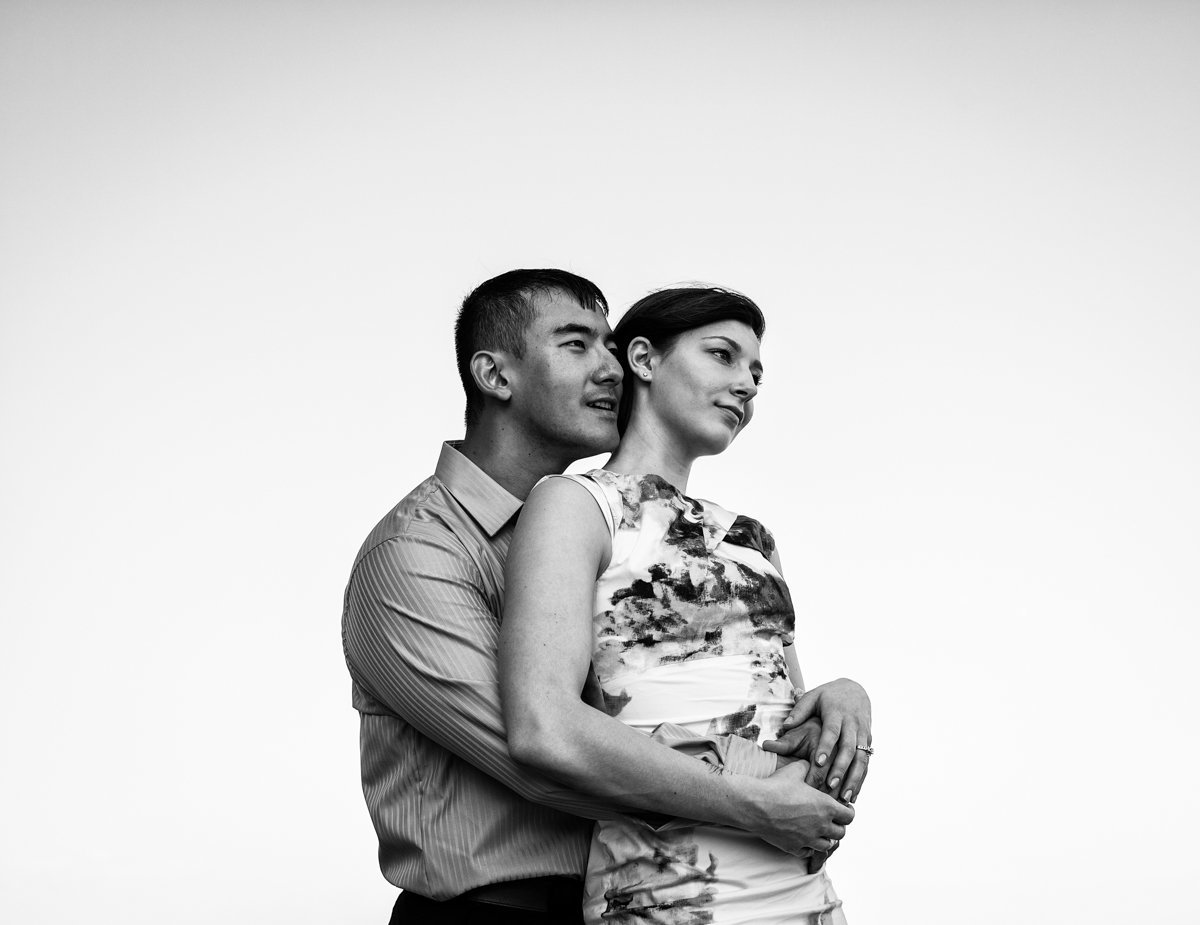 Jackie and Yohei in Oldtown Alexandria