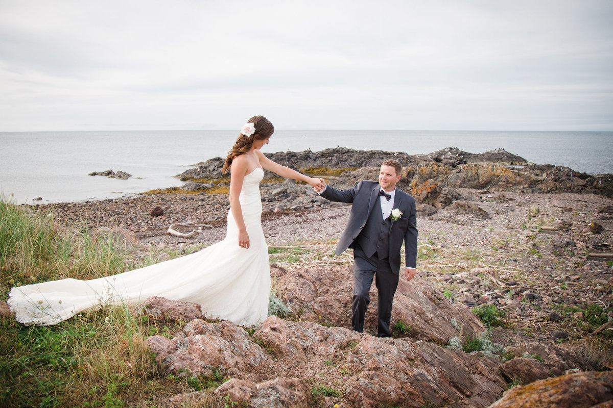 Atlantic Canada Beach Wedding