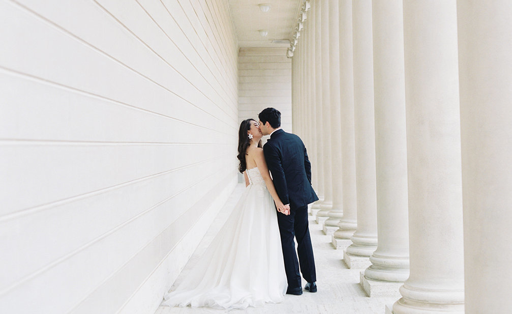 Diana + Pablo San Francisco California Legion of Honor Museum Wedding Session | Cassie Valente Photography 0036
