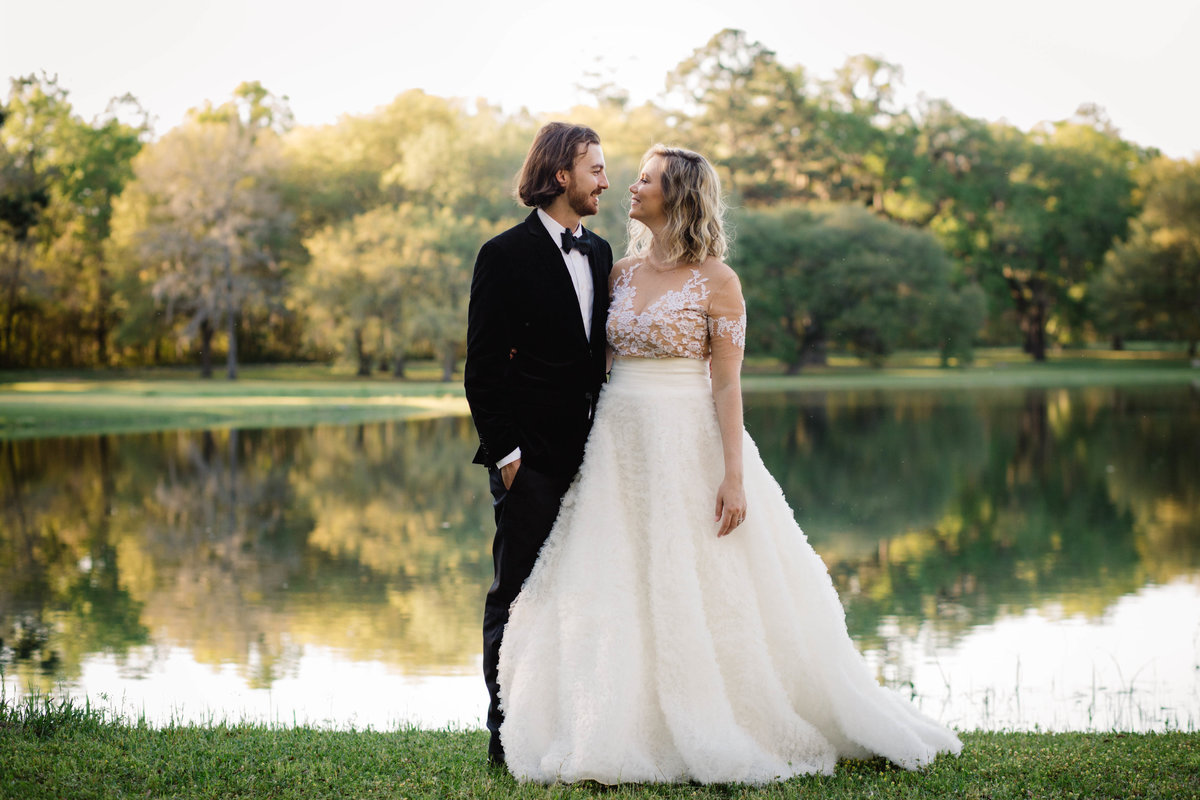 Tallahassee Bradleys Pond Wedding Carolyn Allen Photography