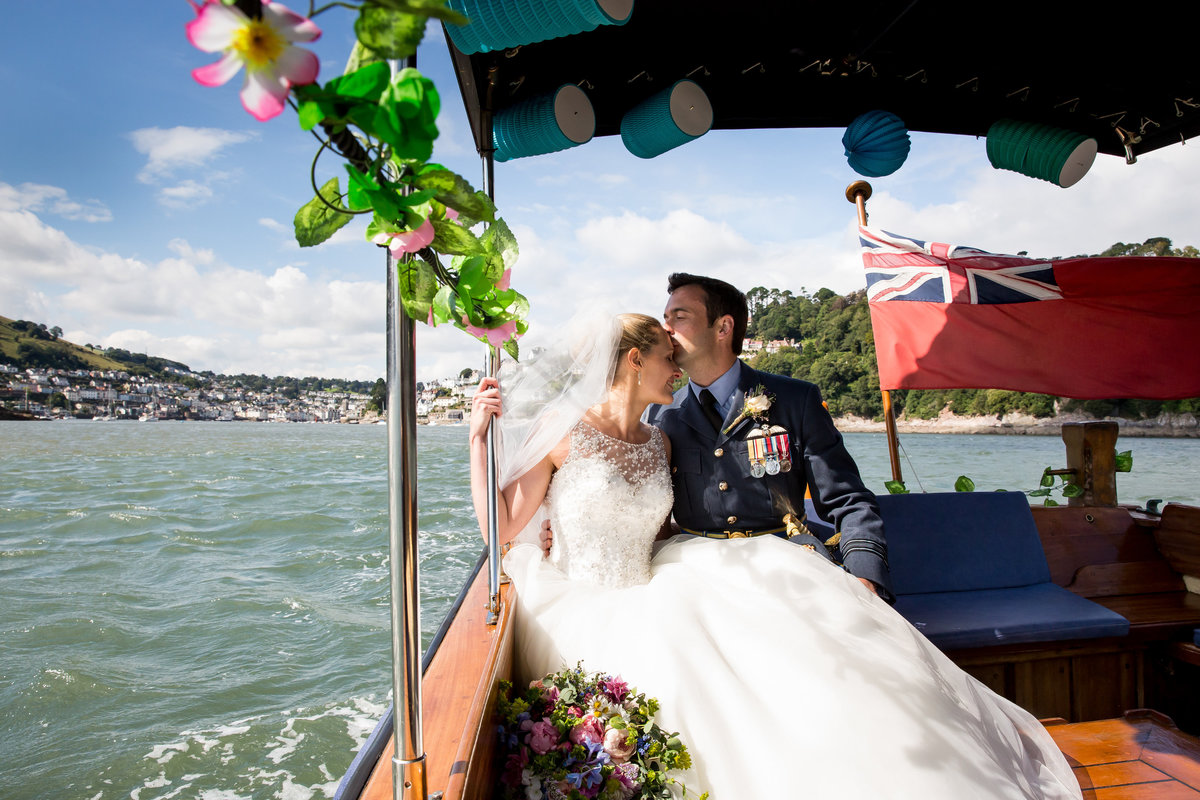 raf wedding river dart devon wedding photography