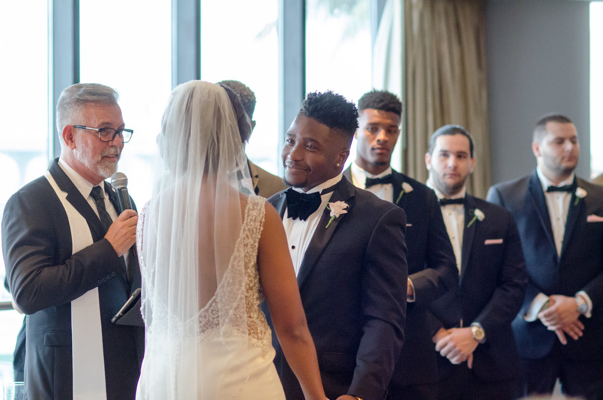 NFL Miami Dolphins Brandon Radcliff ShaKyra Radcliff Briza on the Bay Wedding Andrea Arostegui Photography-126