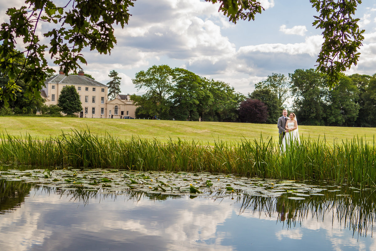 somerford hall wedding portrait