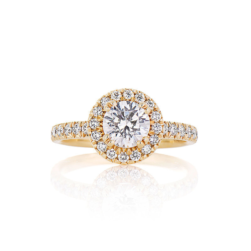 inichiello jewellers gorgeous diamond ring photo