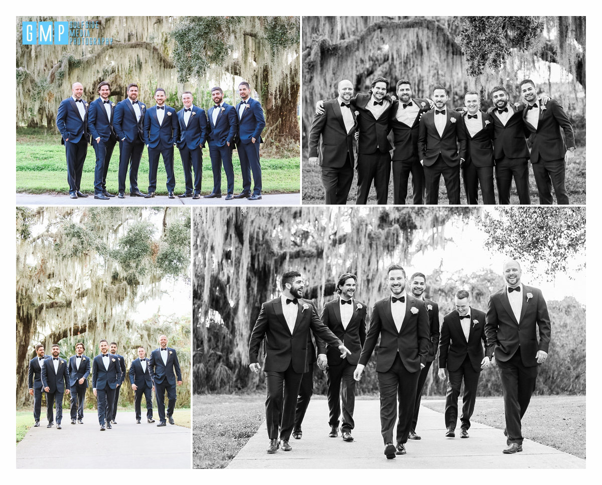 Groomsmen and Bridal Party Fort Myers