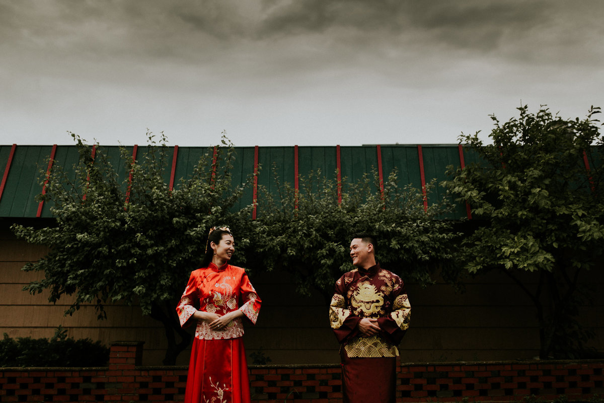 Summer Chinese Wedding in Detroit Michigan. Photo by: Adore Wedding Photography