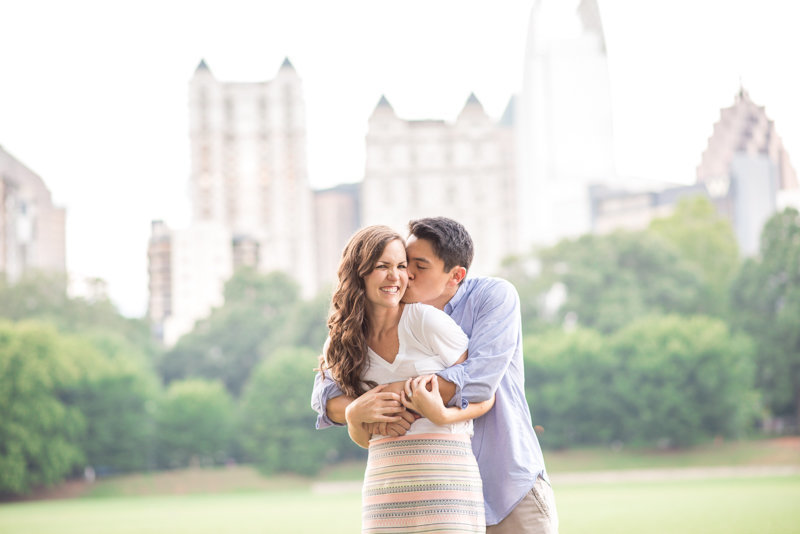 Atlanta Wedding Photographer Eliza Morrill engagement session at summerour studio, ponce city market, and piedmont park-35