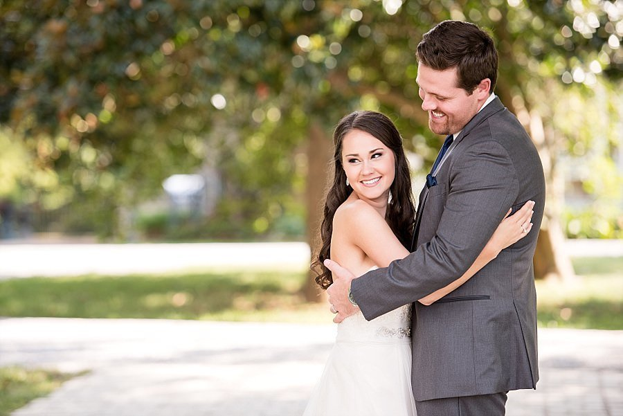 joyful-bride-with-groom-bowling-green-photograph