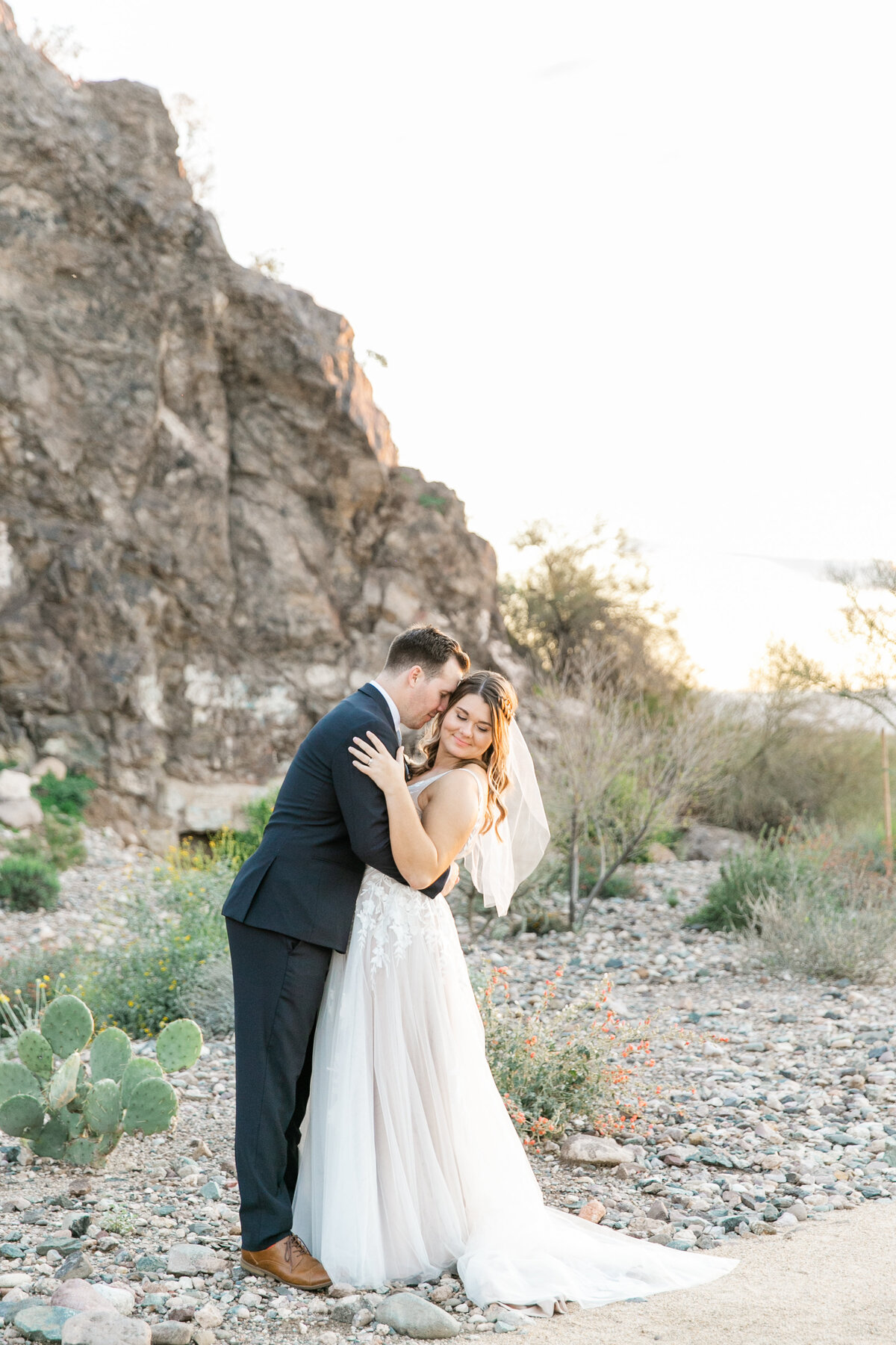 Karlie Colleen Photography - Arizona Backyard wedding - Brittney & Josh-230