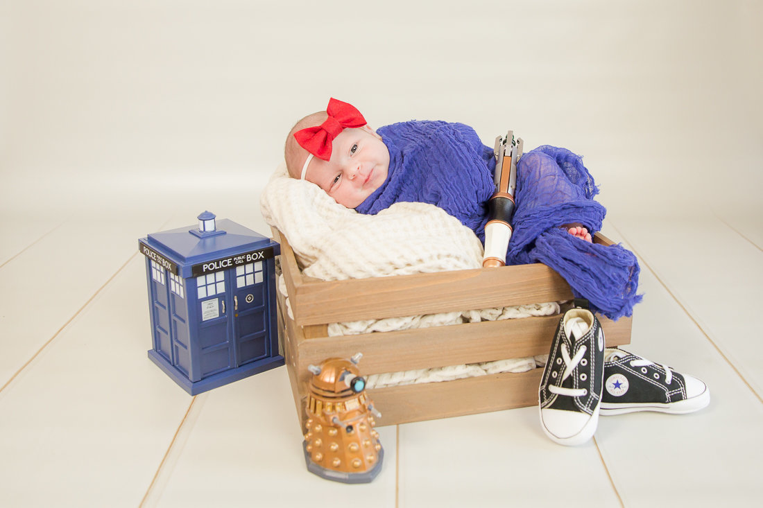 Doctor Who Newborn Photography Orange County-1