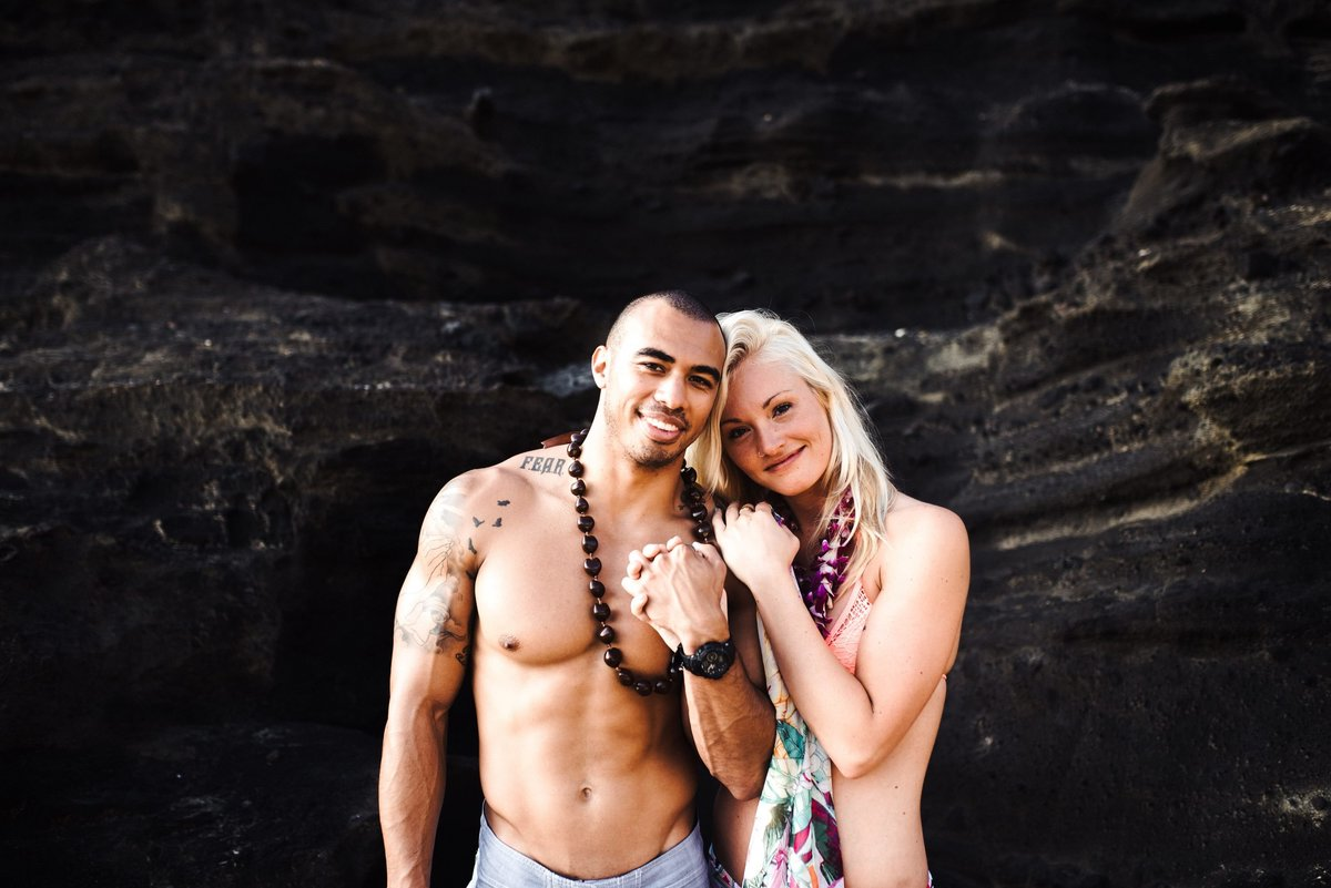 Eternity Beach Honolulu Hawaii Destination Engagement Session - 66