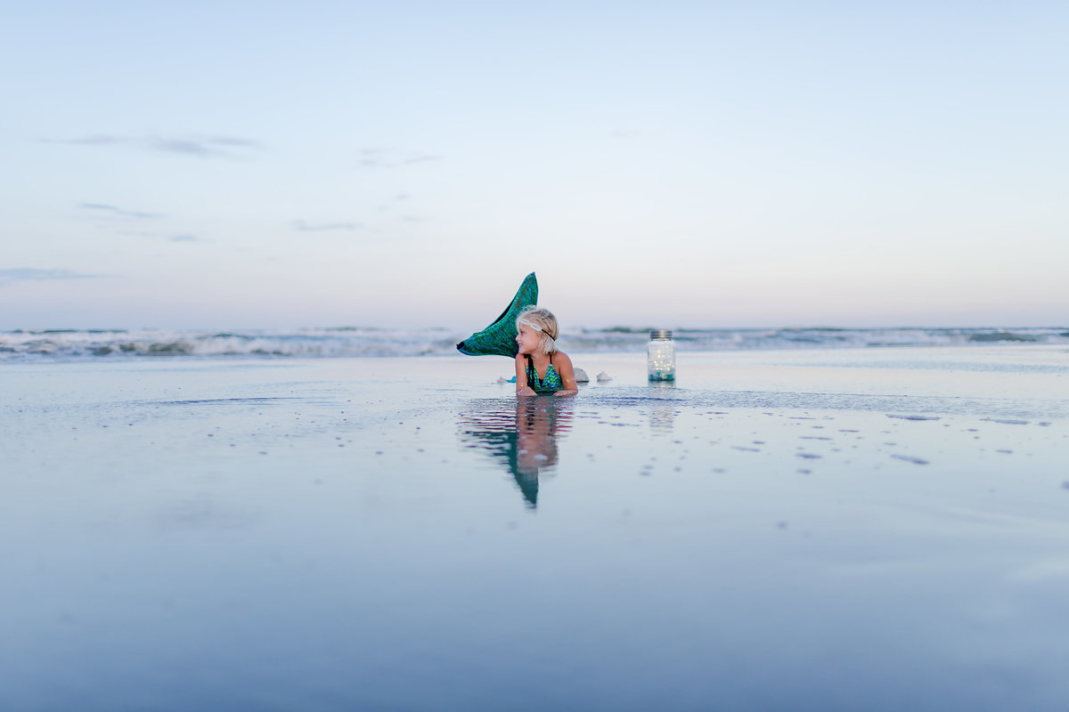 Mermaid Fantasy Session, magical when I dream session captured by childhood photographer brooke tucker