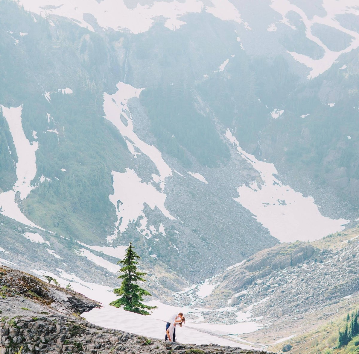 mount baker engagement