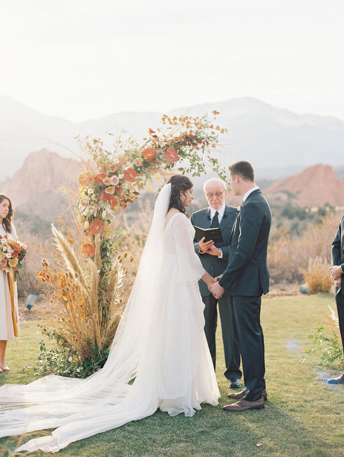 Garden of the Gods wedding