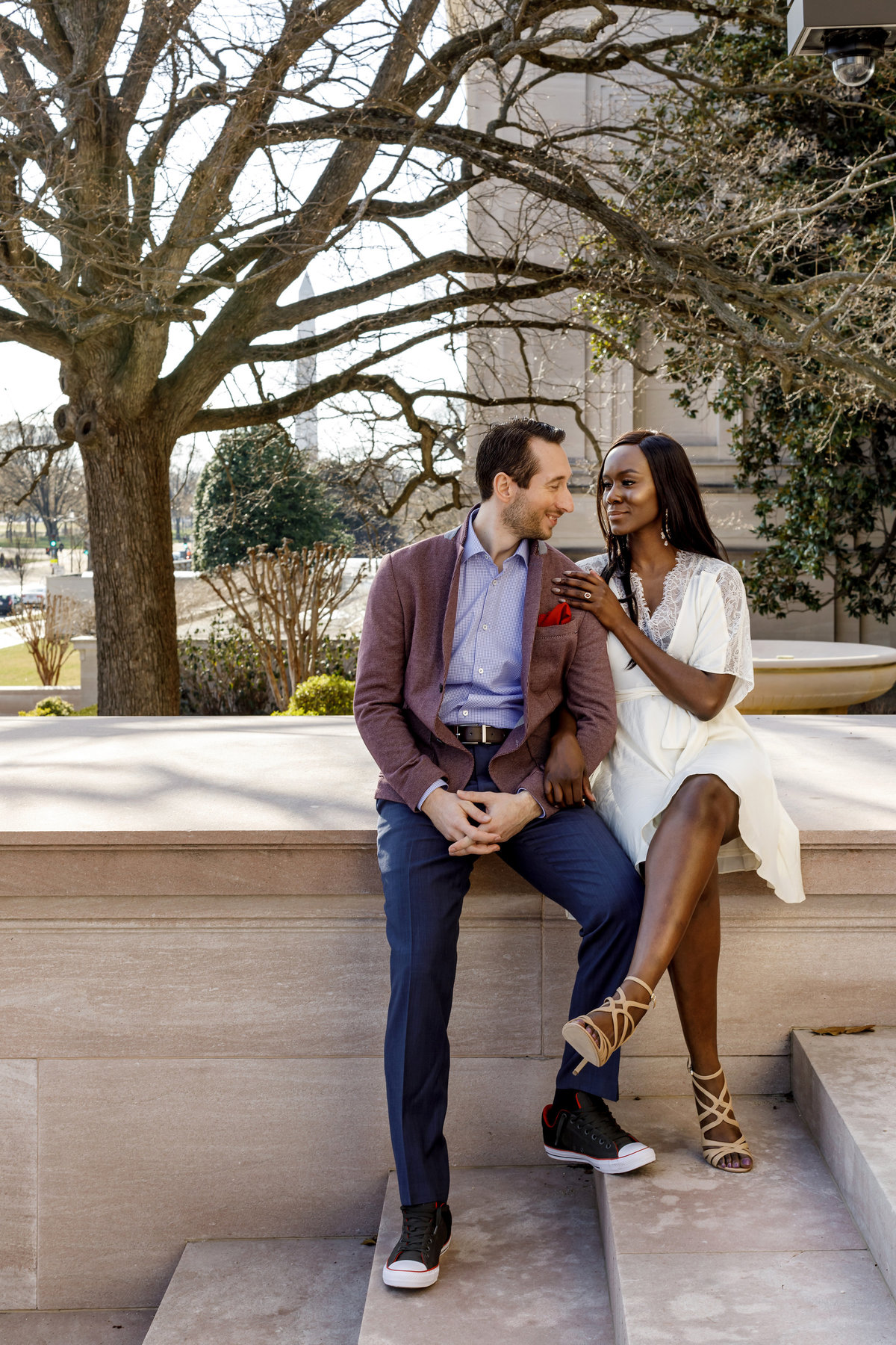 National_Portrait_Gallery_Washington_Engagement_Session_Amy_Anaiz_010