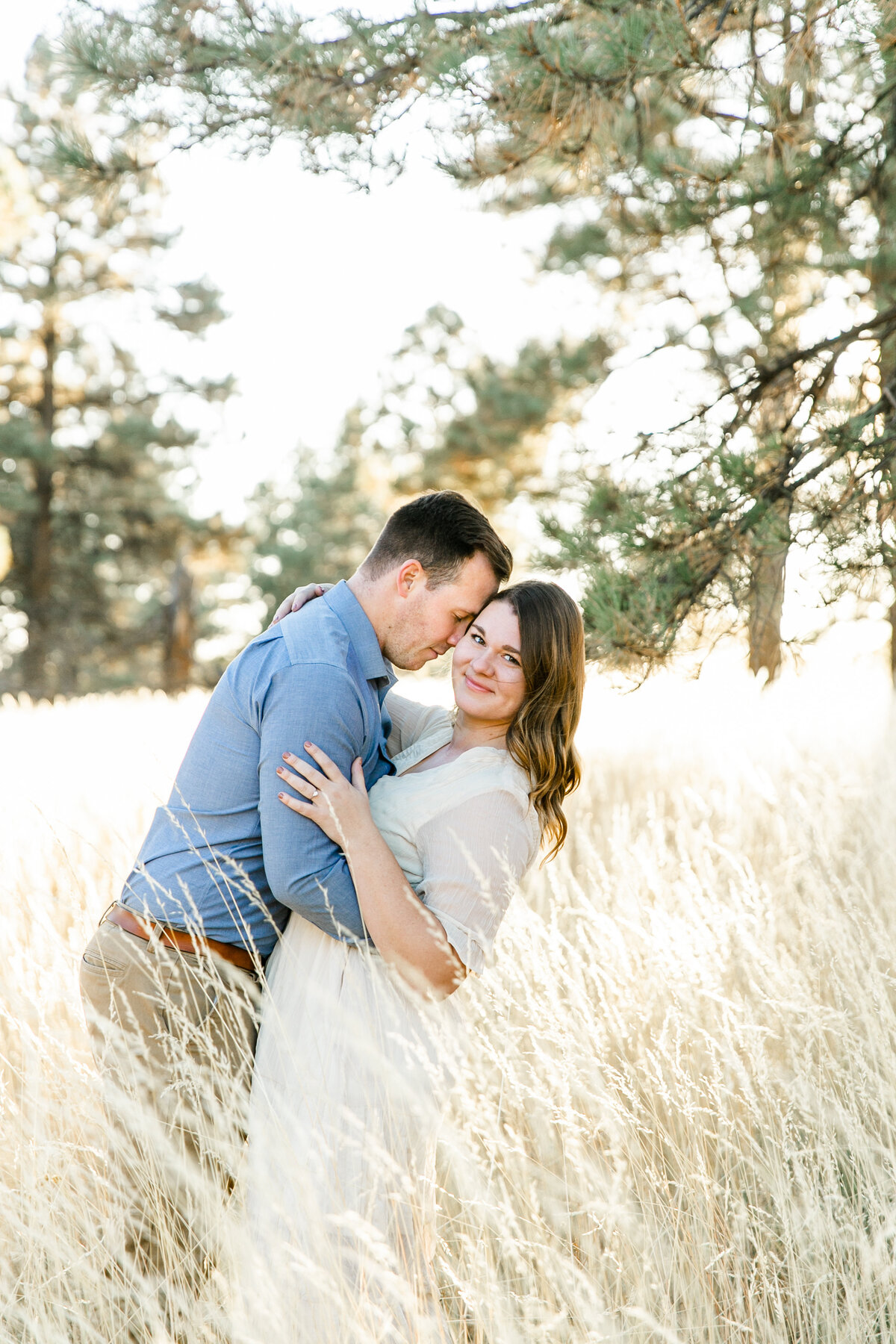 Karlie Colleen Photography - Flagstaff Arizona Engagement Photographer - Britt & Josh -149