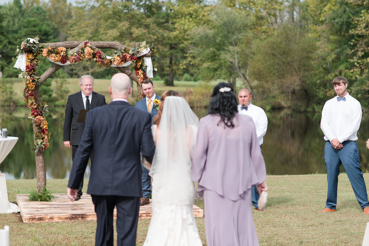 A Outdoor Private Home Wedding, Michelle and Sara Photography, Mebane NC2